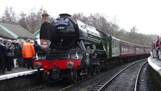 The Flying Scotsman at the North Yorkshire Moors Railway - 15th March 2016