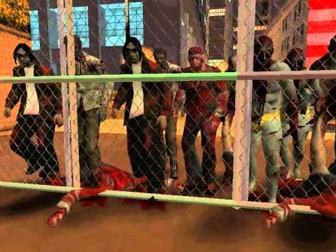 GTA San andreas Escape zombie