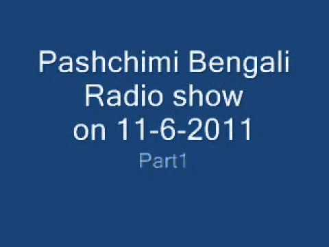 Pashchimi Bengali Radio show on 11-602011 part1.wmv