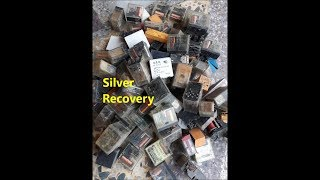 E-waste Recycling | Silver Recovery from Household stuff & Electronic Components | Silver Business