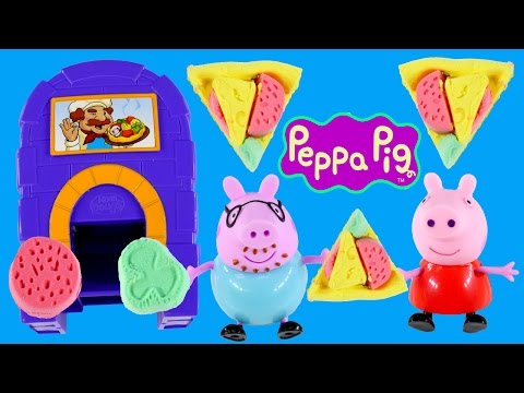 Peppa Pig Moon Dough Pan Pizza Oven Magical Pizzeria Horno de Plastilina by DCTC
