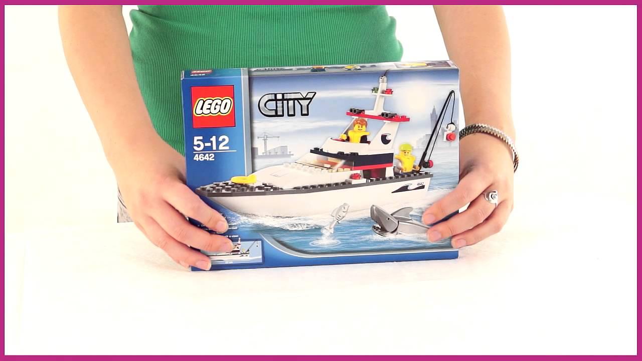 lego city рыболовное судно