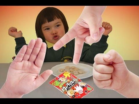 Kracie Rock Paper Scissors Soft Candy クラシエ グーチョキパーソフトキャンディ Kids game candy