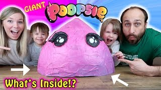 GIANT Poopsie CUTIE TOOTIES! What's Inside!?