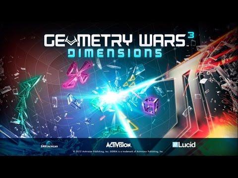Geometry Wars 3: Dimensions ( Juego Aleatorio ) @Vardoc