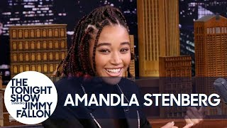 Jennifer Lawrence Taught Amandla Stenberg How to Pee in the Woods