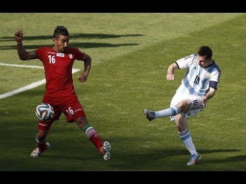 [Clip] Argentina 1-0 Iran (Lionel Messi Goal) - FIFA World Cup 2014 - HD 720p