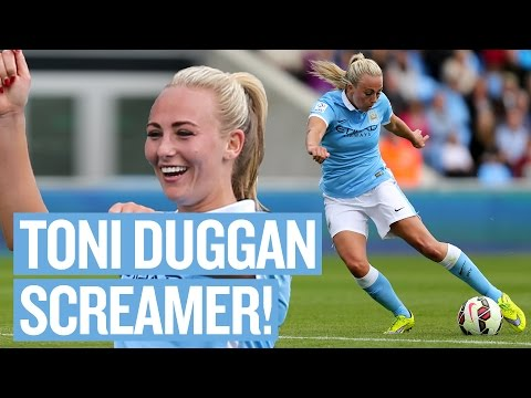 Toni Duggan's Screamer v Bristol Academy