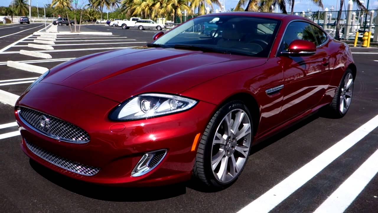 2013 Jaguar Xk Coupe Youtube