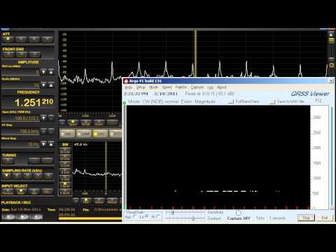 1250 KHz WYTH Madison, GA. | Medium Wave DX | Perseus SDR w/Argo from Michigan