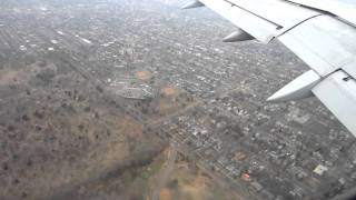 Delta descent and landing into MSP airport