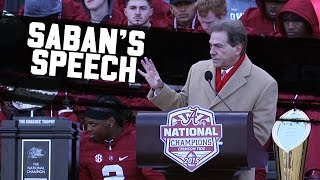 Hear Nick Saban