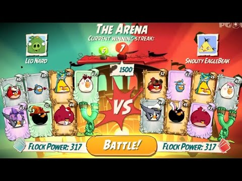 Angry Birds 2 ♥ PvP Arena Bronze League - Ep9 HD
