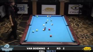 2014 CSI 8 Ball Invitational FINALS: Van Boening vs Ko Ping Chung