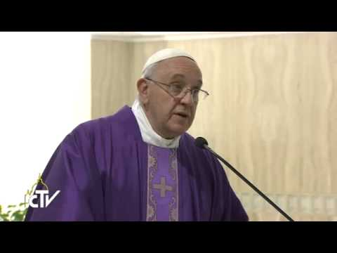 Pope Francis homily: prayer changes hearts