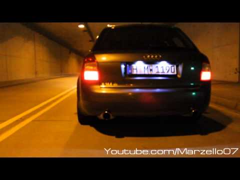 Audi A4 B6 2.4 V6   Sound Check   BN-Pipes   Hannover