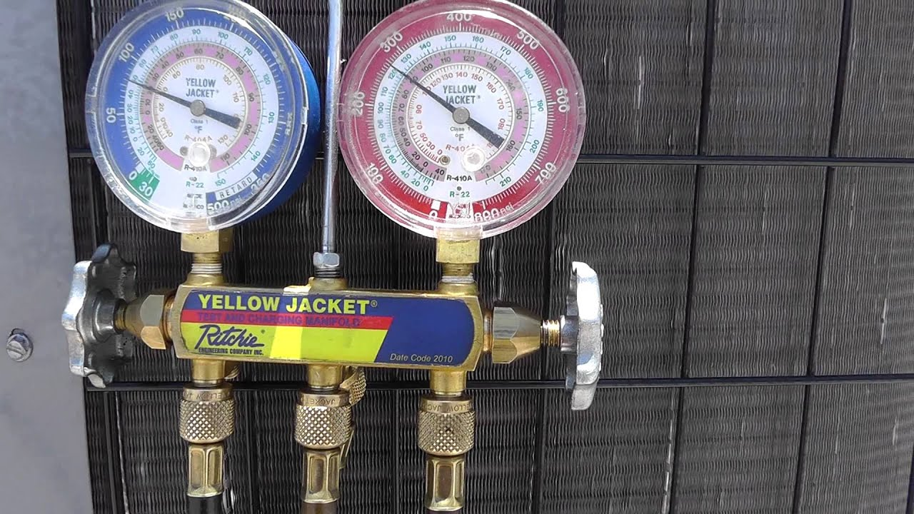 Hvac Gauge Sweeping Unhooking Manifold Gauges The Right