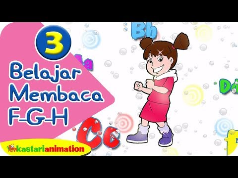 Ayo Belajar Membaca 3 Bersama Diva - Kastari Animation Official video