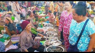 Street Food At Srae Ambel Market In Koh Kong - Cheap Street Food In Koh Kong