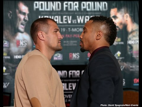 SERGEY KOVALEV VS. ANDRE WARD OFFICIAL PRESS CONFERENCE