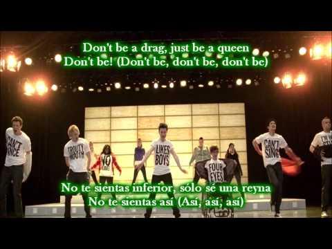 Glee - Born this way / Sub spanish with lyrics