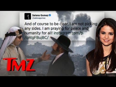 Selena Gomez Weighs in on Mideast Crisis ... FINALLY.