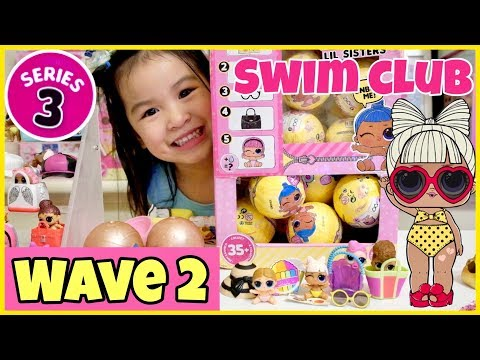 LOL Surprise Series 3 WAVE 2 Lil Sisters! Meet Lil S.P.F.Q.T! 5 GIVEAWAY WINNERS & Shout-outs!