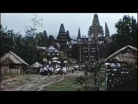Bali In The 1950s- Tempo Doeloe, Indonesia video
