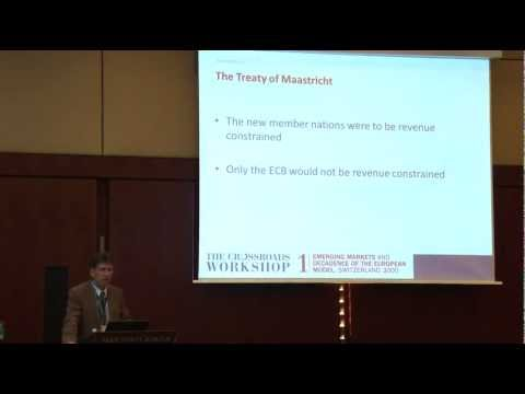 Warren Mosler, The Euro: past, present and future. The Crossroads Workshop 1 in Zurich