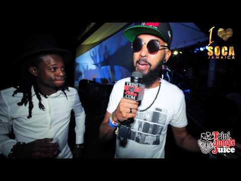 I Love Soca Jamaica 2015 / Olatunji Interview