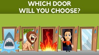 Choose a Door To Survive ||  Hardest Choice Ever || 95% Failed || The Only For Genius