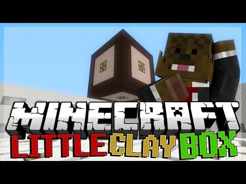 Minecraft 1.8 Snapshot The Little Clay Box Puzzle Map FACECAM