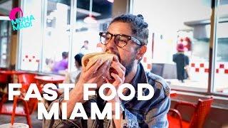 EXPERIMENTANDO FAST FOODS AMERICANOS | MIAMI