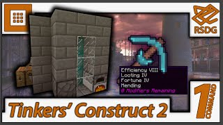 Tinkers Construct 2 In Only 5 Commands! - 1.10 + 1.9 - No Mods - One Command