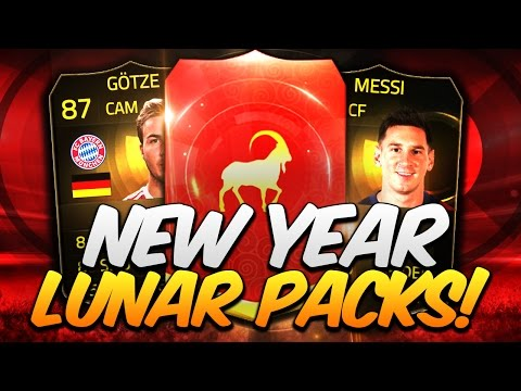 Chinese New Year Lunar Packs FIFA 15 Pack Opening Hunt TIF Messi IF Gotze SIF Muller FUT Inform Pull