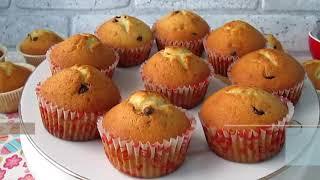 Вкуснейшие кексы на сметане. Сливочные кексы в формочках!