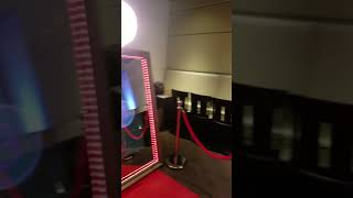 Majestic Mirror Photo Booth Demo Mirror Me FotoMaster technology
