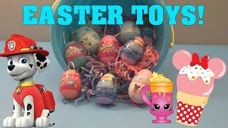 Easter Edition Shopkins Paw Patrol and Disney D-Lectables + Giveaway Info