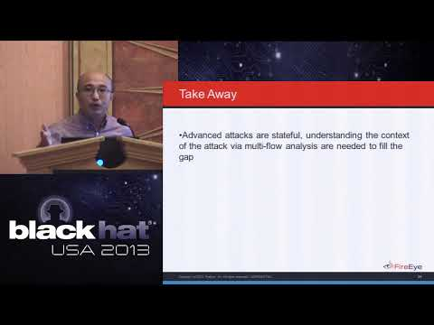 Black Hat USA 2013 - Hot Knives Through Butter: Bypassing Automated Analysis Systems