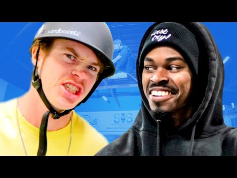 ANDY ANDERSON VS NIGEL | QUARANTINE GAME OF SKATE ROUND 1