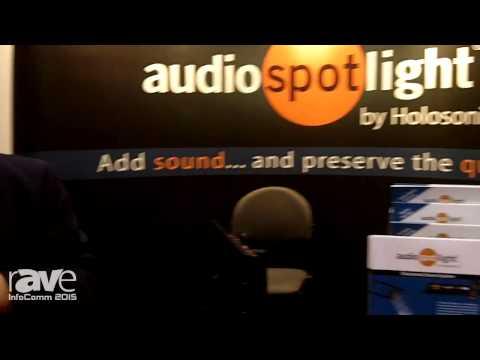 InfoComm 2015: Holosonics Details Audio Spotlight Directional Loudspeaker System