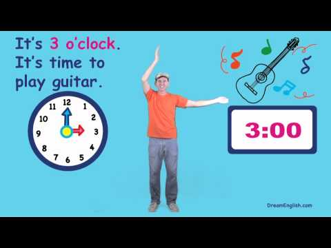 What Time Is It? Song For Kids video