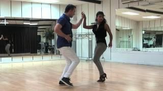 BACHATA DANCE BASI Y DEISY  . Loco de Amor -Luis Vargas
