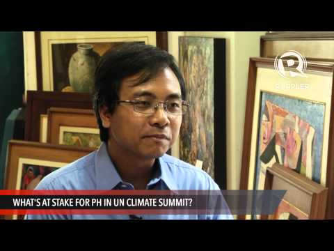 Yeb Saño on PH role in UN Climate Summit