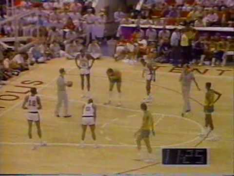 Brasil x EUA - Basquete - Final do Pan 1987 - NA ÍNTEGRA - PARTE 02