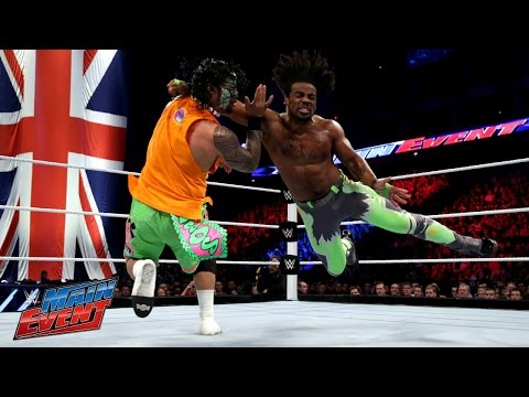 Jimmy Uso Vs. Xavier Woods: Wwe Main Event, April 18, 2015 video