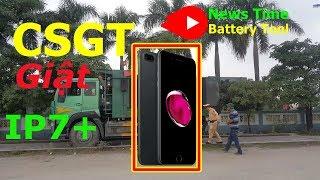 CSGT lấy IP7+ tài xế đòi chạy quanh quẩn (iphone 7plus)