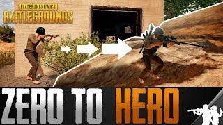 How to Go From Zero to Hero in PlayerUnknown's Battlegrounds | PUBG Guide to Getting More Kills Ep 1