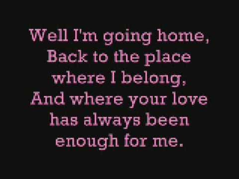 Chris Daughtry Home Lyrics video
