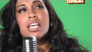 """Melanie Fiona on """"You Stop My Heart"""" Xclusive interview (behind the scene)"""